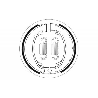 Mâchoires de frein SBS 2055