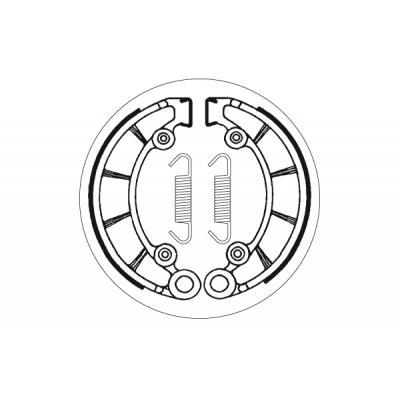 Mâchoires de frein SBS 2072