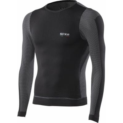Maillot coupe-vent Sixs TS6 carbon black