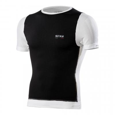 Maillot coupe-vent Sixs TS7 carbon white