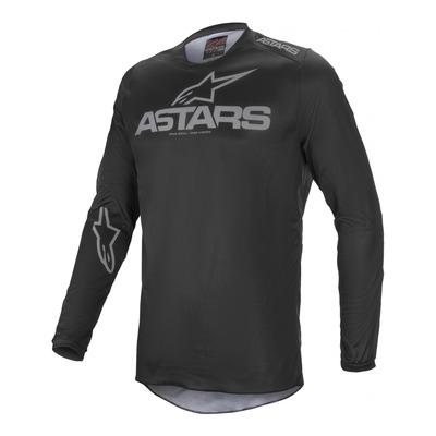Maillot cross Alpinestars Fluid Graphite noir/gris foncé