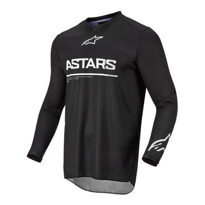 Maillot cross Alpinestars Racer Graphite noir