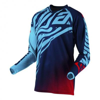 Maillot cross Answer Syncro Drift Flow astrana/indigo/bright red