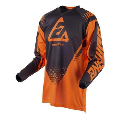 Maillot cross Answer Syncro Drift orange fluo/charcoal