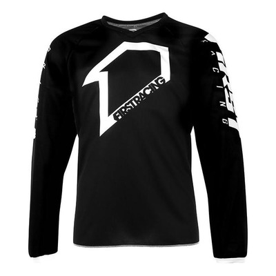 Maillot cross enfant First Racing Corpo noir/anthracite