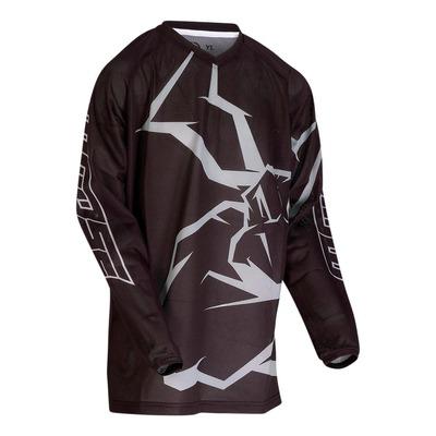 Maillot cross enfant Moose Racing Agroid mesh gris/noir