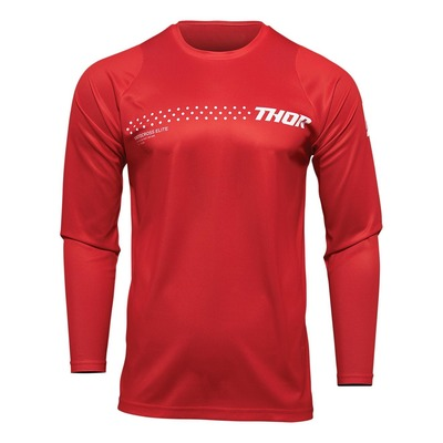 Maillot cross enfant Thor Sector Minimal rouge