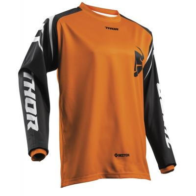 Maillot cross enfant Thor Sector Zones orange