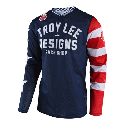 Maillot cross enfant Troy Lee Designs GP América navy