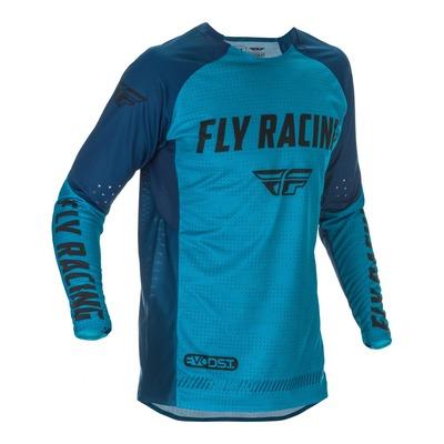 Maillot cross Fly Racing Evolution DST bleu/noir