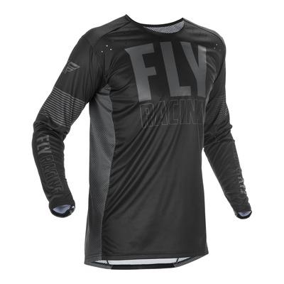 Maillot cross Fly Racing Lite noir/gris