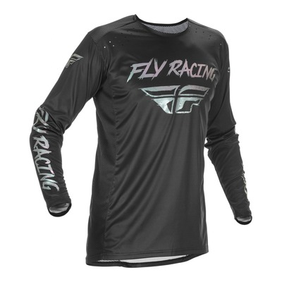 Maillot cross Fly Racing Lite S.E. noir/fusion