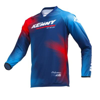 Maillot cross Kenny Performance paradise blue
