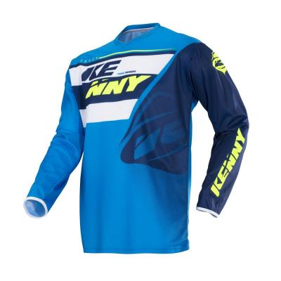 Maillot cross Kenny Track navy/cyan