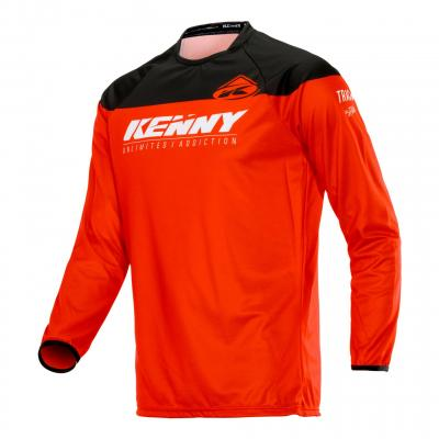 Maillot cross Kenny Track Raw rouge