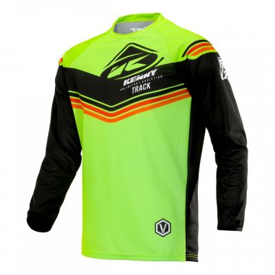 Maillot cross Kenny Track Victory lime/noir