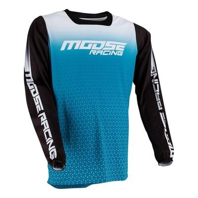 Maillot cross Moose Racing M1 bleu/noir
