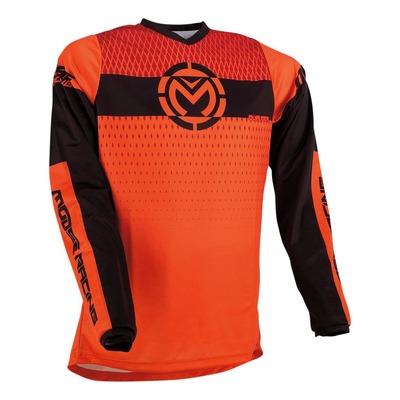 Maillot cross Moose Racing Qualifier orange/noir