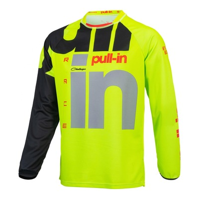 Maillot cross Pull-in Challenger Race lime