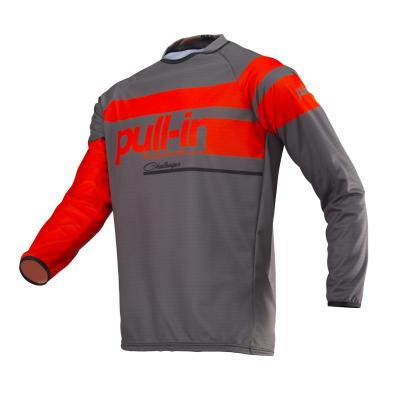 Maillot cross Pull-in Challenger Race charcoal/orange