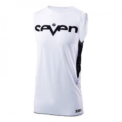 Maillot cross Seven Zero Staple Over blanc