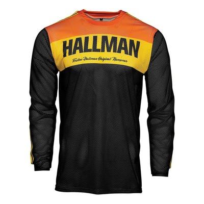 Maillot cross Thor Hallman Tapd Air noir/orange