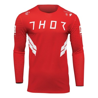 Maillot cross Thor Prime Hero rouge/blanc
