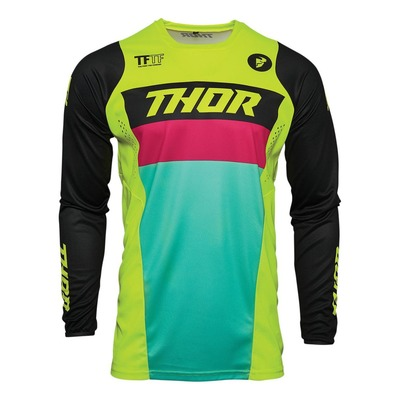 Maillot cross Thor Pulse Racer acid/noir