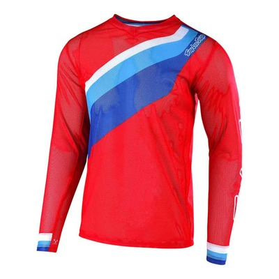 Maillot cross Troy Lee Designs GP Air Prisma 2 rouge