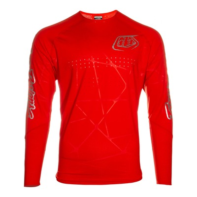 Maillot cross Troy Lee Designs SE Ultra Podium rouge