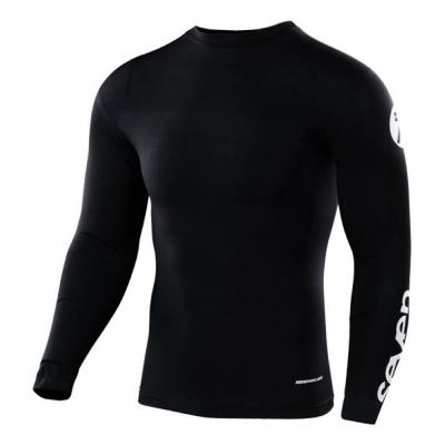 Maillot de compression Seven Zero Staple Compression noir
