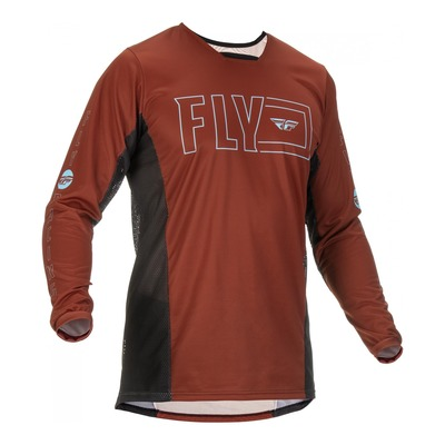 Maillot Fly Racing Kinetic Fuel rust/noir