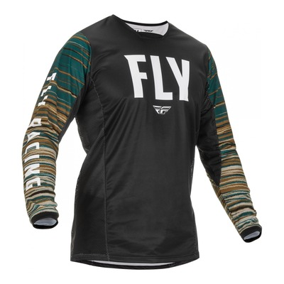 Maillot Fly Racing Kinetic Wave noir/rum