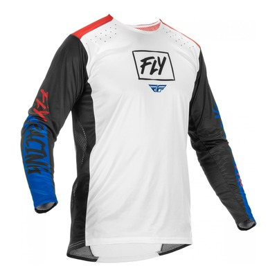 Maillot Fly Racing Lite rouge/blanc/bleu