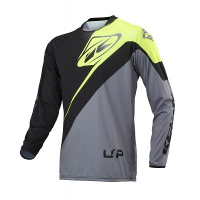 Maillot Kenny Trial-up gris/vert