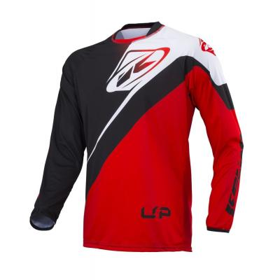 Maillot Kenny Trial-up rouge/noir/blanc