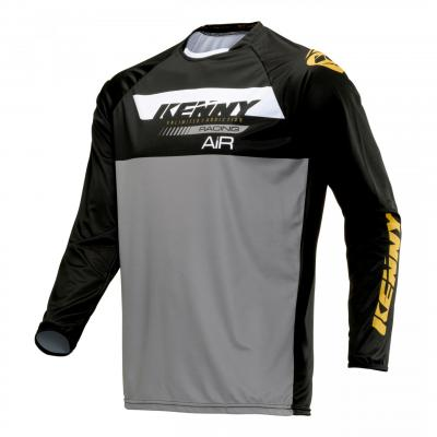Maillot trial Kenny Trial Air noir/or
