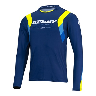 Maillot Trial Kenny Trial-up bleu/jaune fluo 2022