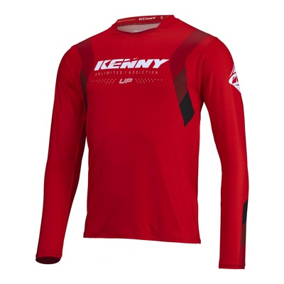 Maillot Trial Kenny Trial-up rouge 2022