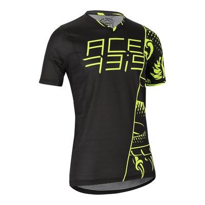 Maillot vélo Acerbis MTB Combat noir/jaune