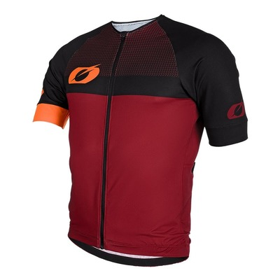 Maillot vélo O'Neal Aerial Split rouge/orange
