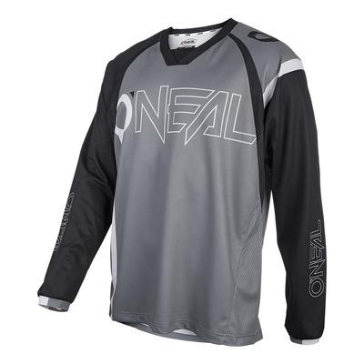 Maillot vélo O'Neal Element FR Hybrid noir/gris