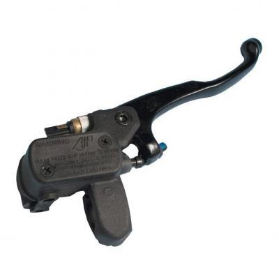 Maître cylindre de frein AJP levier court noir