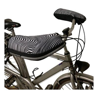 Manchons de guidon vélo Tucano Urbano City zebre noir/blanc