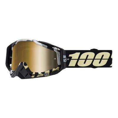 Maque cross 100% Racecraft Ergoflash- miroir or