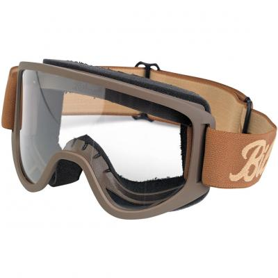 Masque Biltwell Moto 2.0 marron