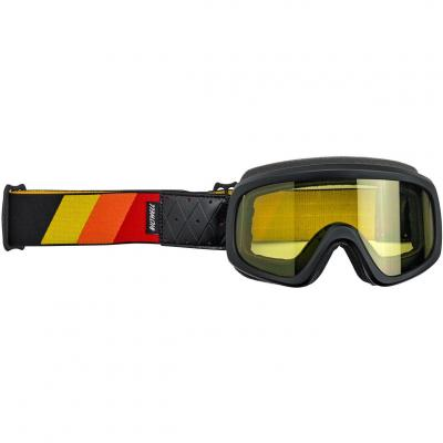 Masque Biltwell Overland 2.0 Tri-Stripe noir/jaune/orange