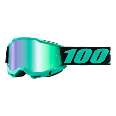 Masque cross 100% Accuri 2 Tokyo écran iridium vert