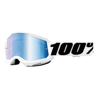 Masque cross 100% Strata 2 Everest écran iridium bleu