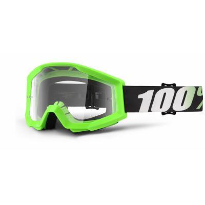 Masque cross 100% Strata Arkon Clear lens